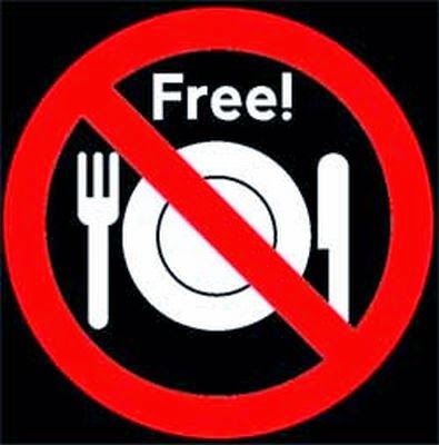 No Free Lunch!